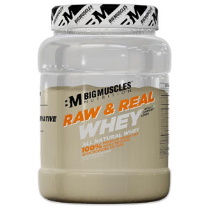Bigmuscles Nutrition Raw & Real Organic Whey Protein