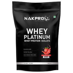 NAKPRO PLATINUM 100% Whey Protein